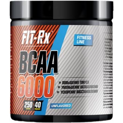 БЦАА FIT-Rx BCAA 6000 Fitness Line