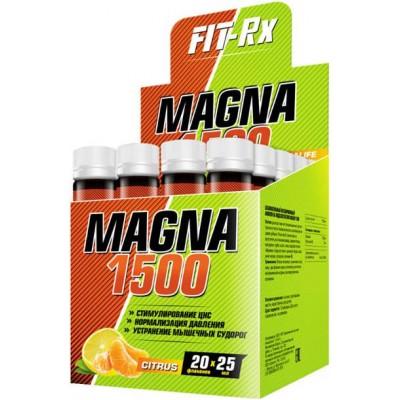 Магний с витамином Б6 FIT-Rx Magna 1500