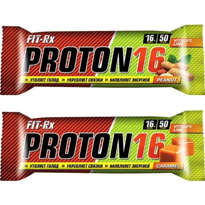 Углеводный батончик FIT-Rx Proton 16 Bar