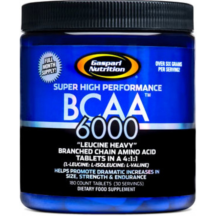 Аминокислоты BCAA 6000 от Gaspari