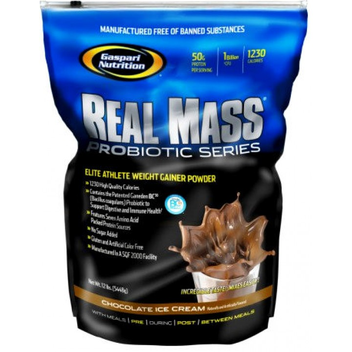 Гейнер Real Mass Probiotic Series