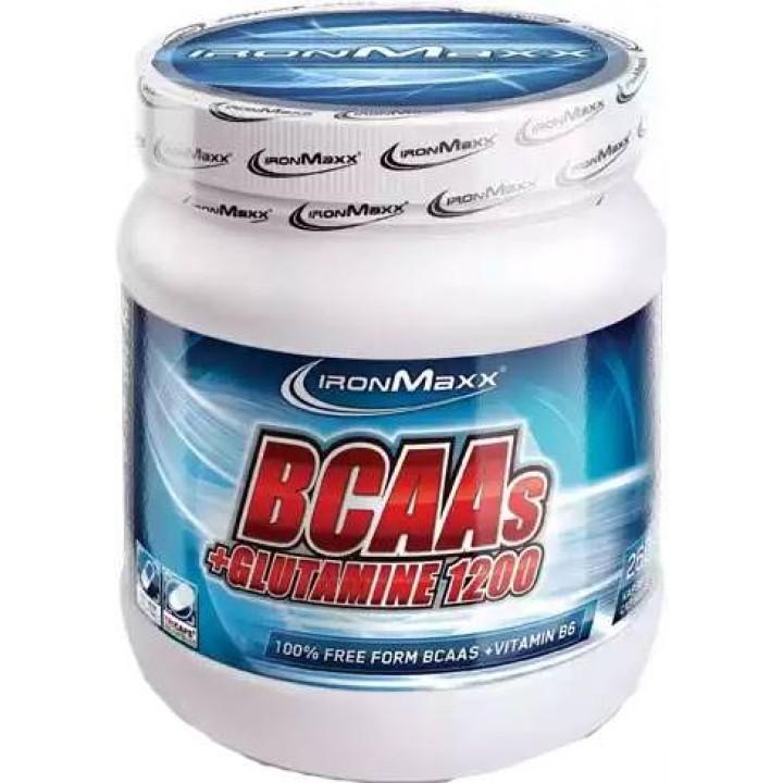 Аминокислоты IronMaxx BCAAs + Glutamine 1200