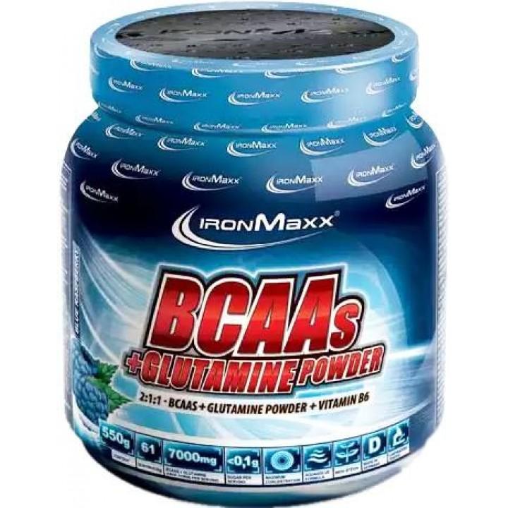 Аминокислоты IronMaxx BCAAs + Glutamine Powder
