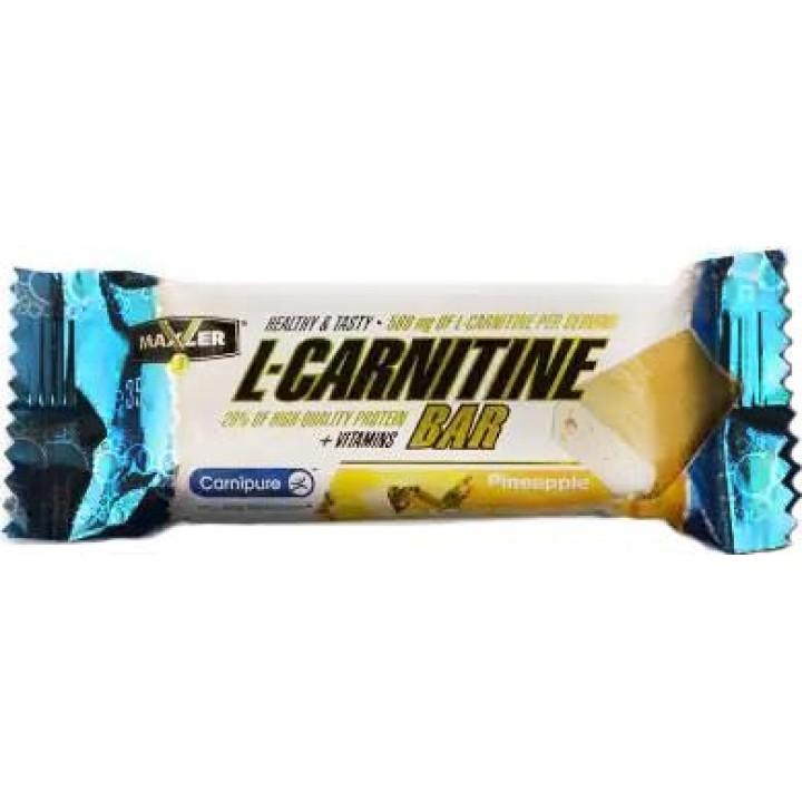 Протеиновые батончики с карнитином Maxler L-Carnitine Bar