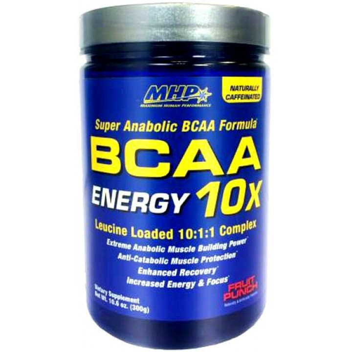 Аминокислоты MHP BCAA 10X Energy