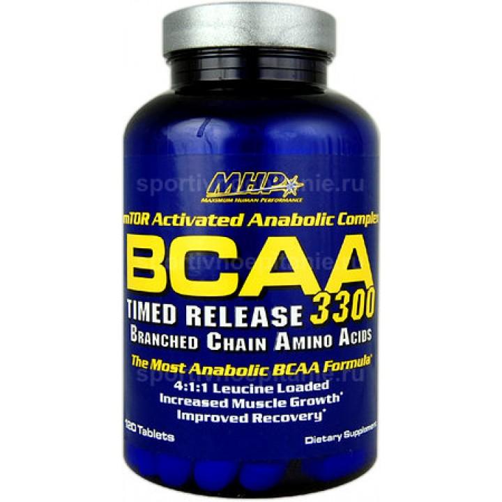 Аминокислоты BCAA 3300 от MHP