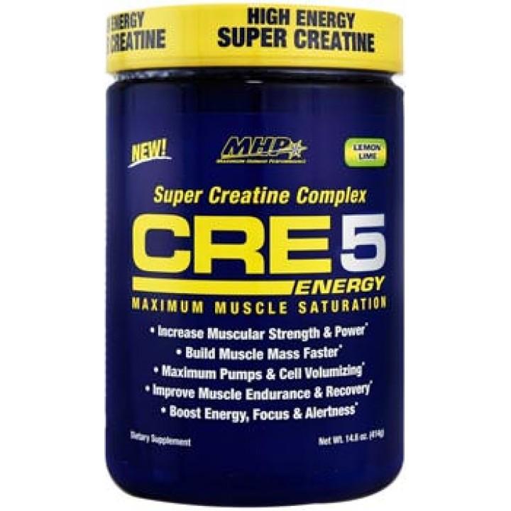 Предтренировочный комплекс MHP CRE5 Energy