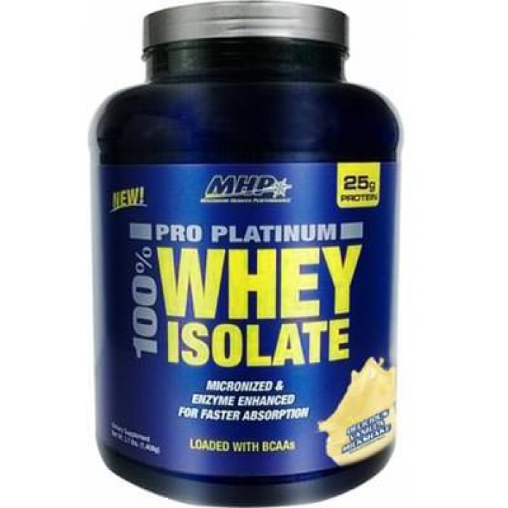 Изолят сывороточного протеина MHP Pro Platinum 100% Whey Isolate