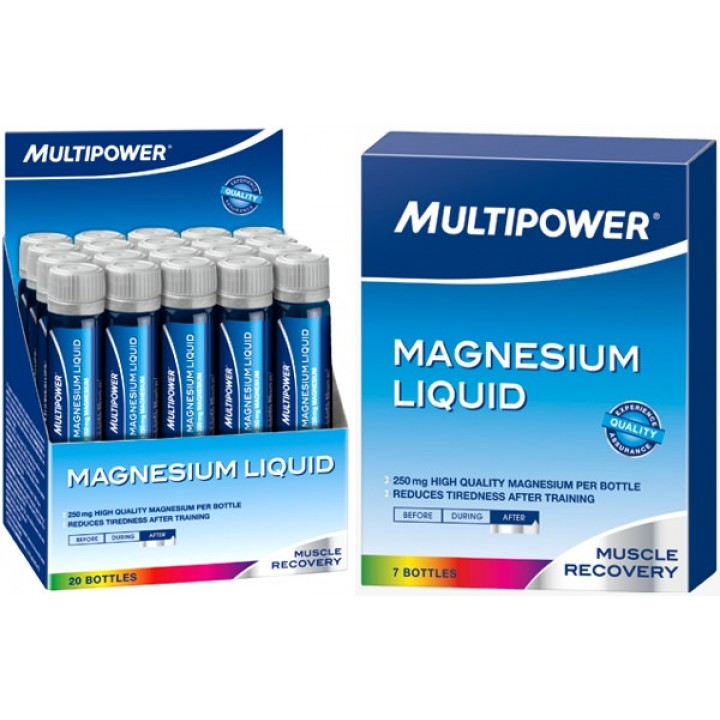 Магний Multipower Magnesium Liquid 250 mg