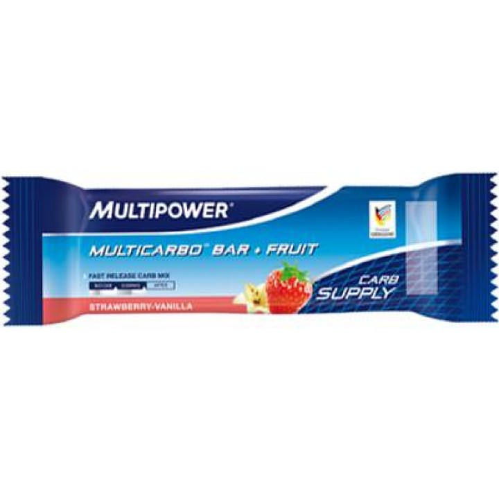 Углеводный батончик Multipower Multicarbo Bar + Fruit