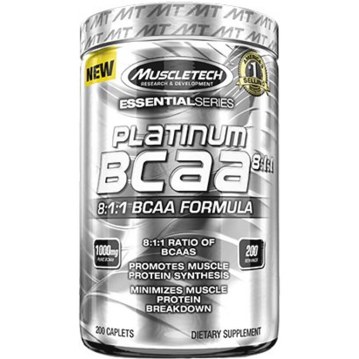 Аминокислоты MuscleTech Platinum BCAA 8:1:1 Essential Series
