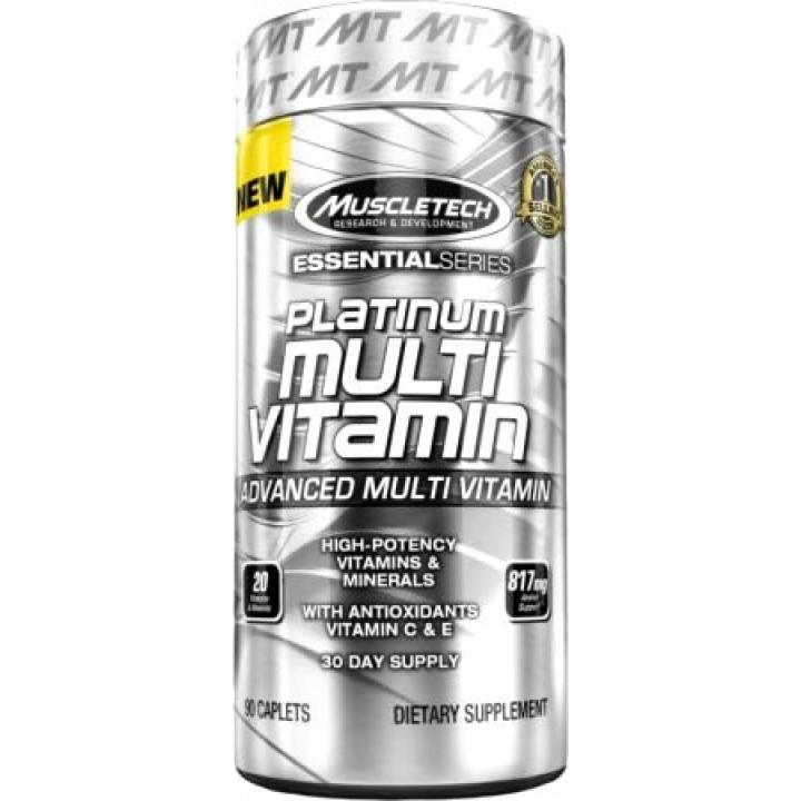 Витамины MuscleTech Platinum Multi Vitamin Essential Series