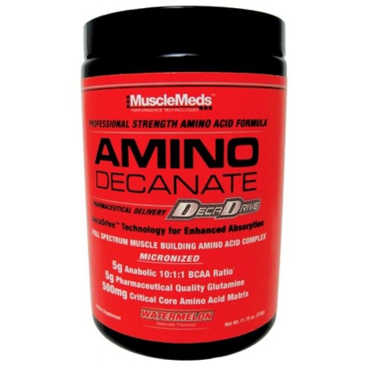 Аминокислоты BCAA MuscleMeds Amino Decanate