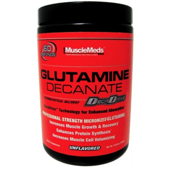 Глютамин MuscleMeds Glutamine Decanate