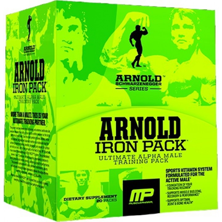 Витамины MusclePharm Arnold Iron Pack