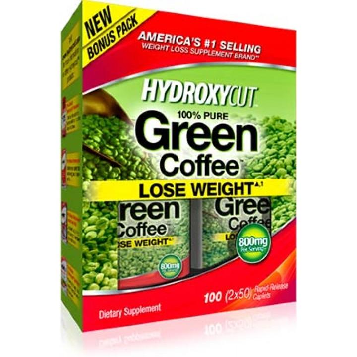 Жиросжигатель MuscleTech Hydroxycut 100% Pure Green Coffee