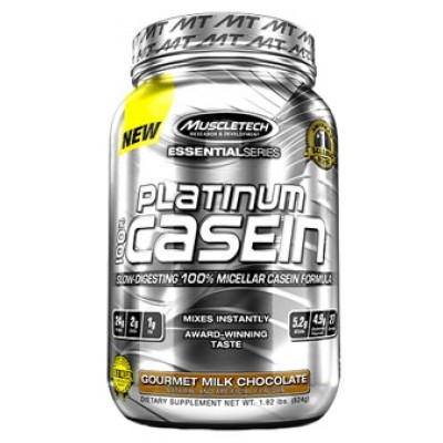 Протеин Platinum 100% Casein Essential Series