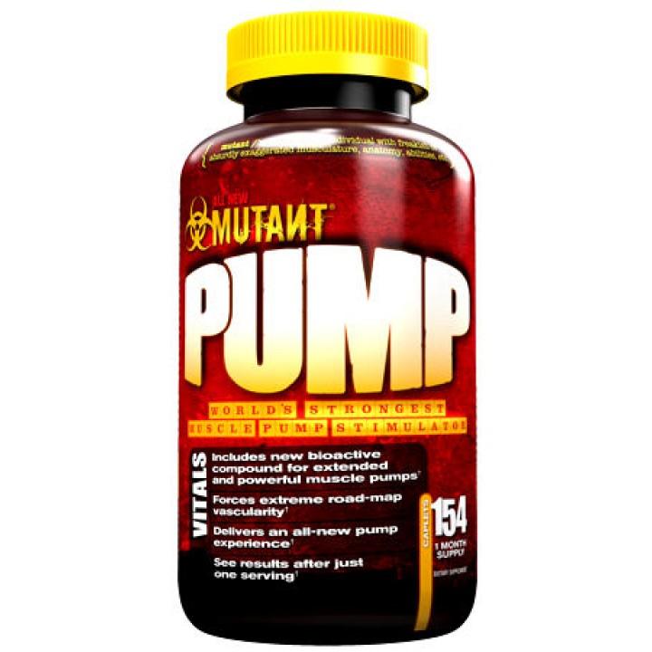 Предтренировочный комплекс NO-бустеры Mutant Pump