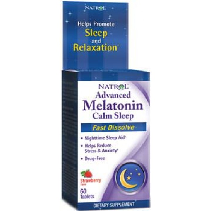 Мелатонин Natrol Advanced Melatonin Calm Sleep