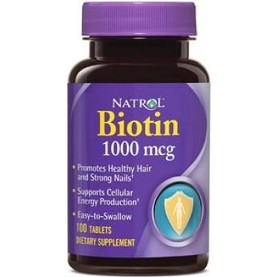 Биотин Natrol Biotin