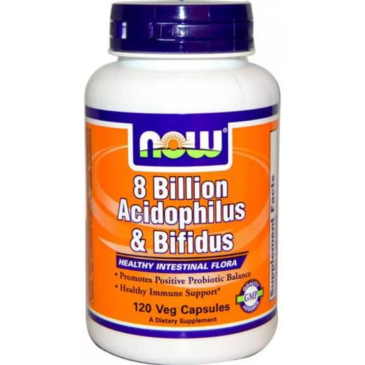 Укрепление иммунитета 8 Billion Acidophilus Bifidus