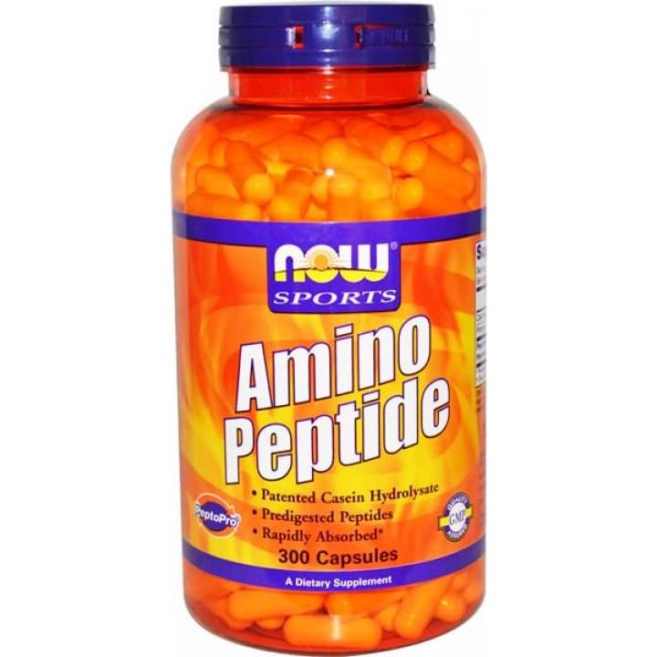 Аминокислоты и пептиды NOW Sports Amino Peptide 400mg