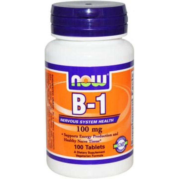 Витамин Б1 NOW B-1