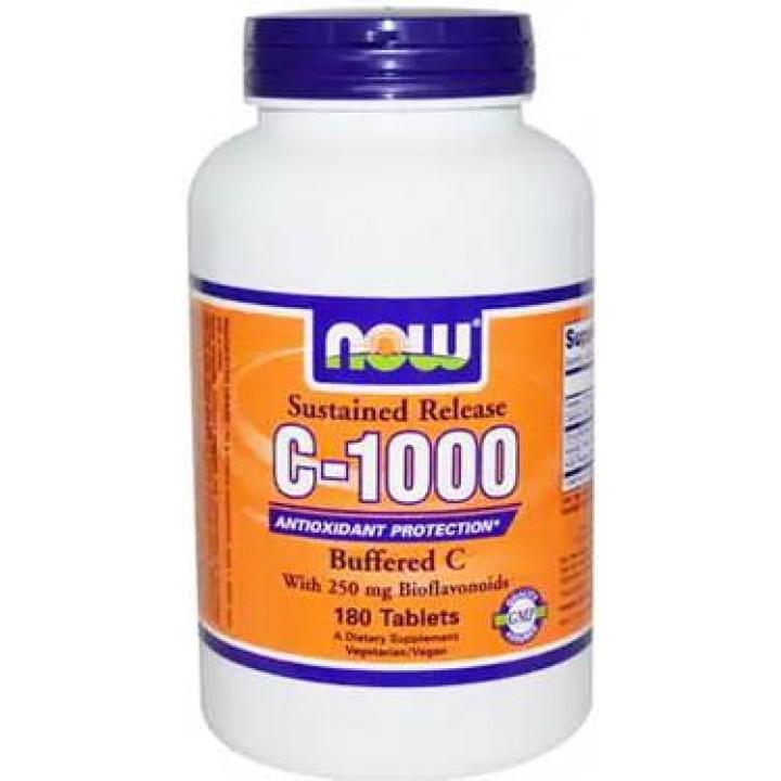 Витамин с кальцием NOW Buffered C-1000 Complex