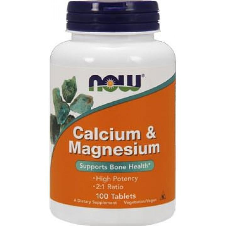 Кальций и магний NOW Calcium Magnesium