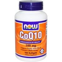 Коэнзим Q10 NOW CoQ10 100mg