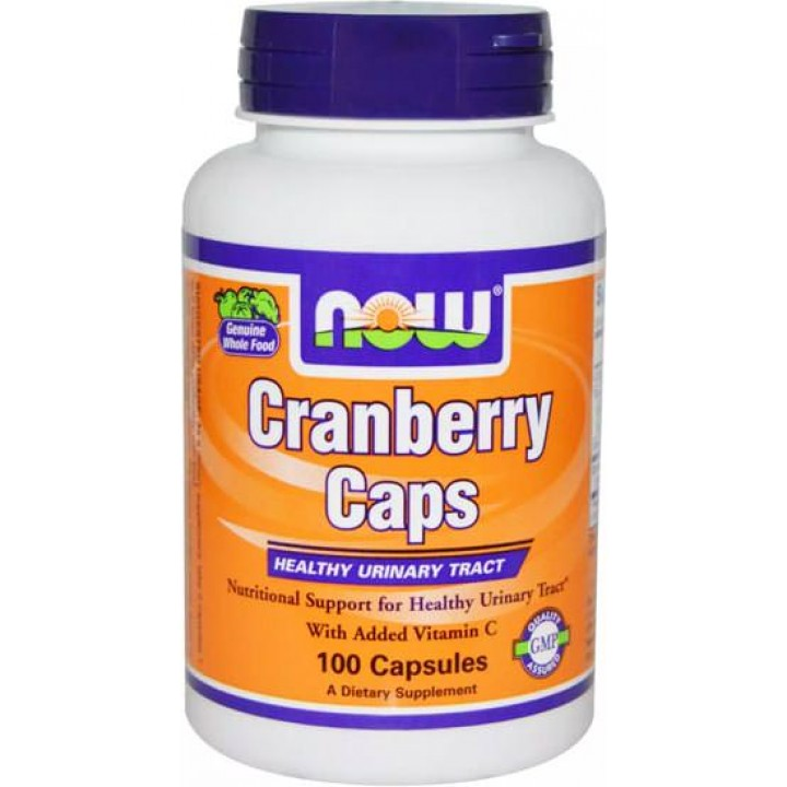 Антиоксиданты NOW Cranberry Caps 700mg