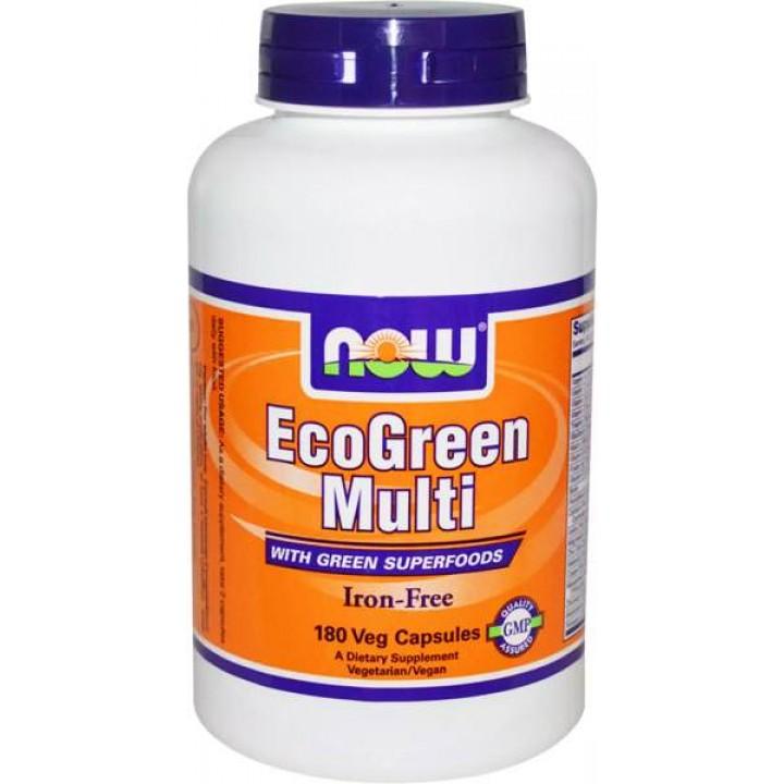 Витамины и минералы NOW EcoGreen Multi