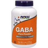 Габа Now Foods GABA Pure Powder (170 гр)