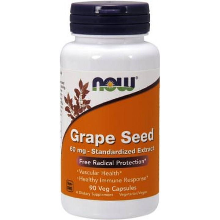 Экстракт виноградных косточек Now Foods Grape Seed (180 капс)