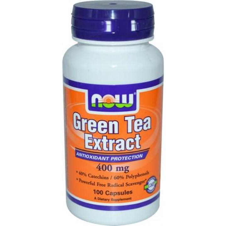 Экстракт зеленого чая NOW Green Tea Extract 400mg