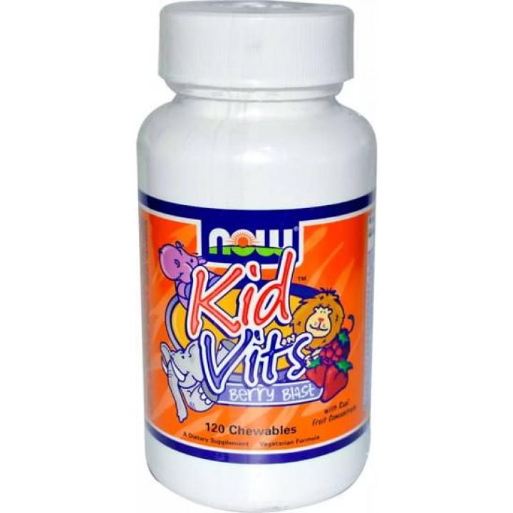 Витамины для детейNow Foods Kid Vits (120 таб)
