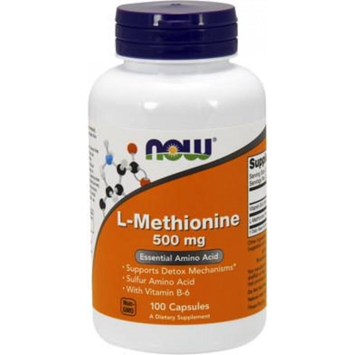 Аминокислоты L-Methionine 500mg