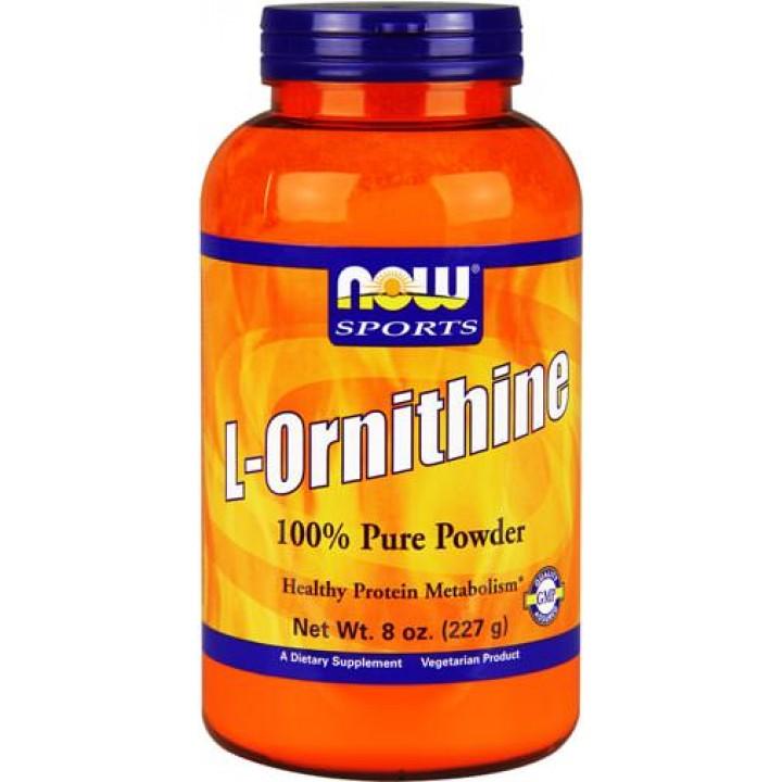 Орнитин NOW Sports L-Ornithine Powder