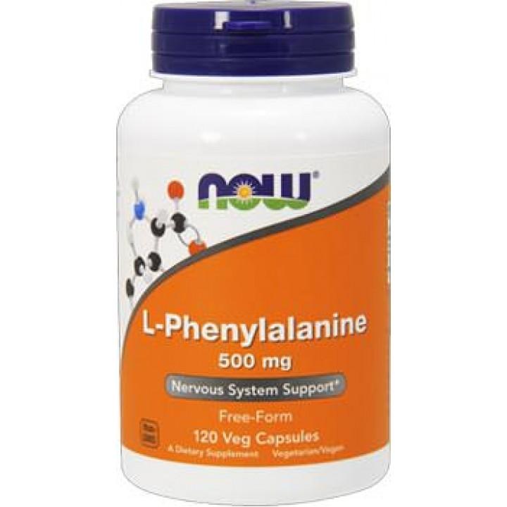 Л-фенилаланин Now Foods L-Phenylalanine (120 капс)
