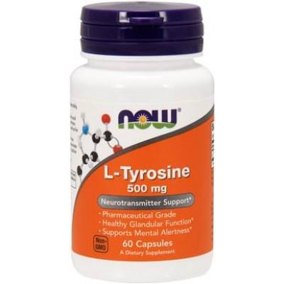 Тирозин Now Foods L-Tyrosine (60 капс)