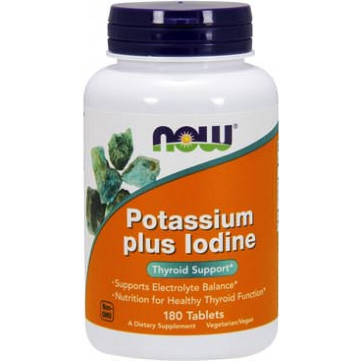 Калий с йодом NOW Potassium Plus Iodine