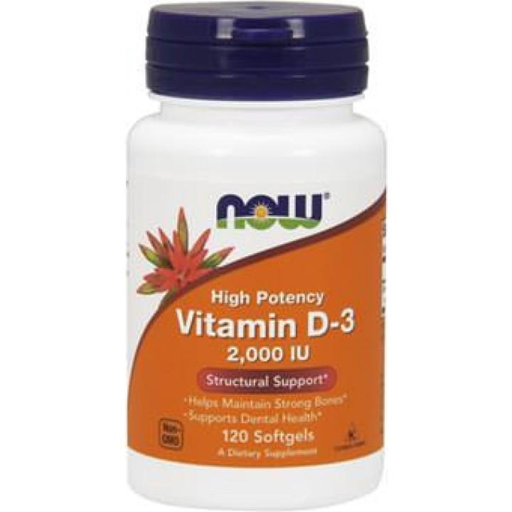 Витамин Д3 Now Foods Vitamin D-3 2000 IU