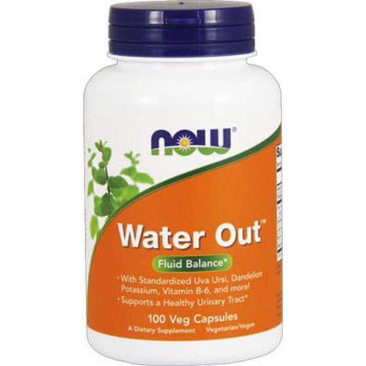 Диуретик на основе растительных экстрактов NOW Water Out