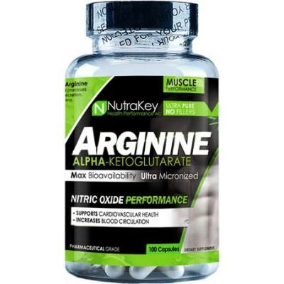 Аргинин альфа-кетоглютарат NutraKey Arginine AKG