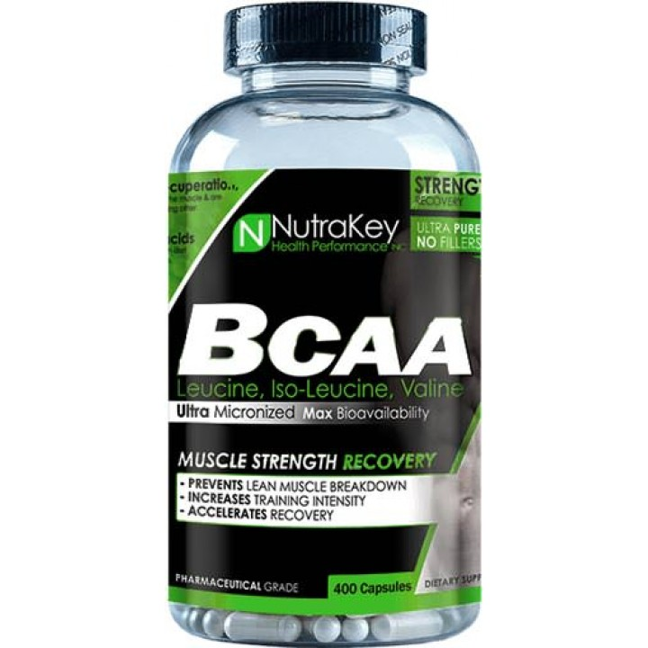Аминокислоты BCAA Caps от NutraKey