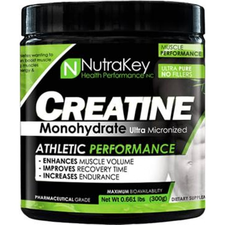 Креатин NutraKey Creatine Monohydrate Powder