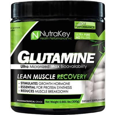 Глютамин NutraKey Glutamine Powder