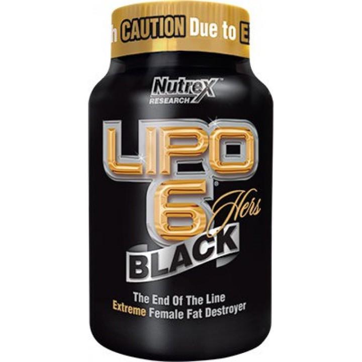 Жиросжигатель Nutrex Lipo-6 Black HERS