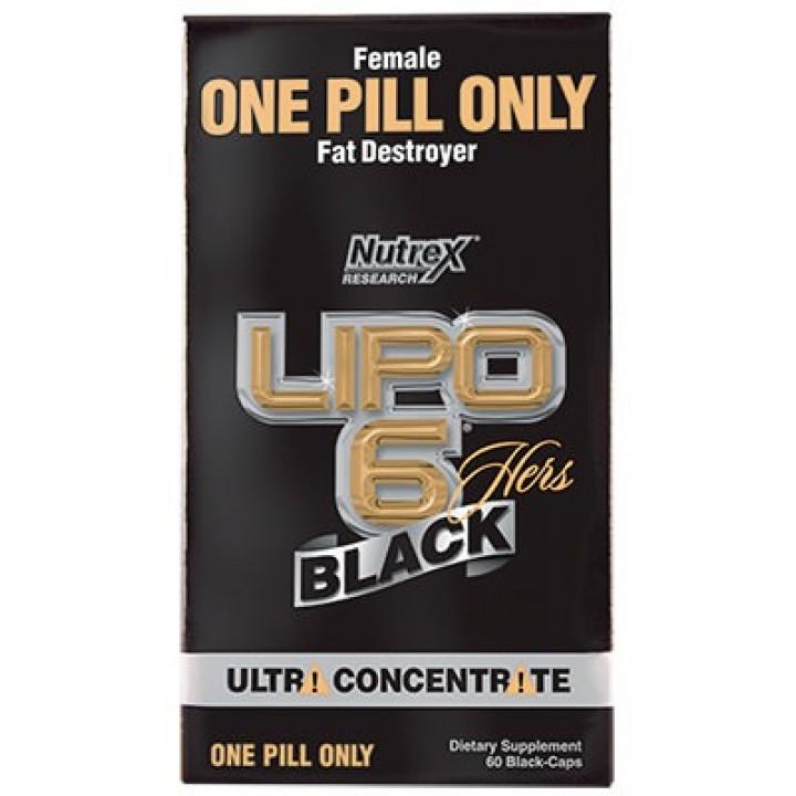 Жиросжигатель для женщин Nutrex Lipo-6 Black Hers Ultra Concentrate