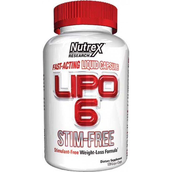 Жиросжигатель Nutrex Lipo-6 Stim-Free
